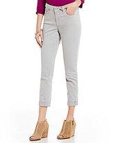 NYDJ Petite Clarissa 5-Pocket Roll-Cuff Ankle Jeans