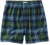 L.L. Bean L.L.Bean Scotch Plaid Flannel Boxers