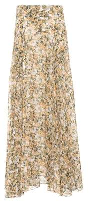 Isabel Marant Ferone floral-printed maxi skirt