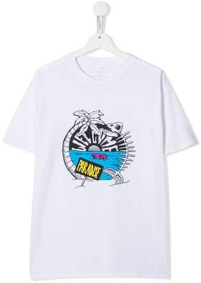 Stella McCartney TEEN paradise print T-shirt