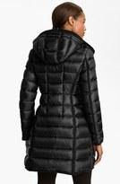 Moncler 'Hermine' Long Down Coat