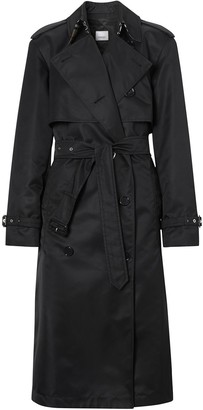 Burberry Twill Double-Breasted Trench