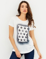 Only Riley Star Flag Tee