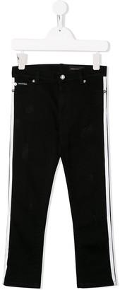 Dolce & Gabbana Kids Side Stripe Trousers