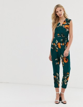 AX Paris sleeveless wrap jumpsuit