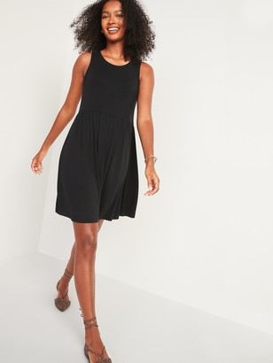 Old Navy Sleeveless Jersey-Knit Swing Dress for Women