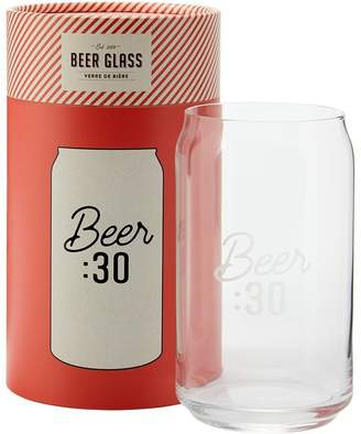 Indigo BEER THIRTY CAN BEER GLASS
