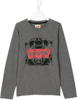 Levi's Kids teen long sleeve printed T-shirt
