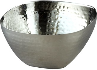 Elégance Hammered Square Bowl 6-Inch