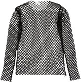 Dries Van Noten mesh long-sleeved T-shirt