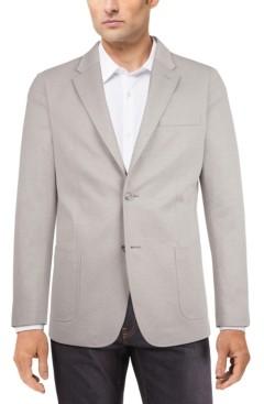 Tommy Hilfiger Men's Modern-Fit Solid Knit Sport Coat
