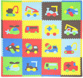 Tadpoles 16 Piece Transport Playmat Set