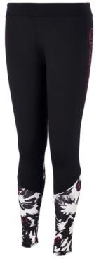 adidas Big Girls Climalite Printed Leggings