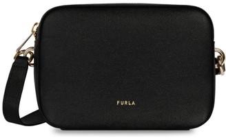 Furla Block Leather Camera Bag