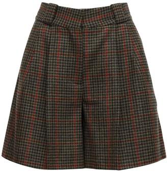 BLAZÉ MILANO Drum Beat Wool Shorts