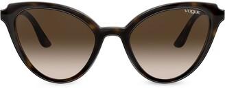 Cat Eye Mod Cut cat-eye sunglasses