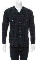 Timo Weiland Plaid Button-Up Shirt w/ Tags
