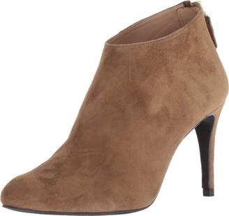 LK Bennett Women's Emily Almond Toe Suede Bootie Ankle Boot