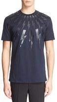 Neil Barrett Men's Tonal Thunderbolt Graphic T-Shirt