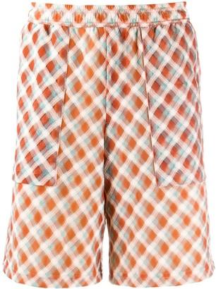 Goodfight Textured Checked Shorts