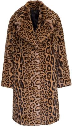 Liu Jo Liu-Jo Animalier Oversize Coat