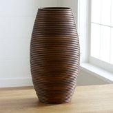 Crate & Barrel Galang Medium Vase
