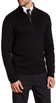 Jack Spade Smithfield Half-Zip Wool Blend Sweater
