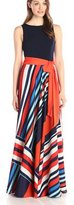 Roiii Womens Summer Long Maxi BOHO Evening Casual Party Beach Dress Plus Size Sundress (Medium, )