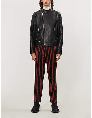 The Kooples Zip-through leather jacket
