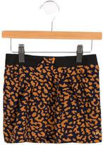 Little Marc Jacobs Girls' Printed Draped Skirt