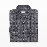 Club Monaco Slim-Fit Tiles Shirt