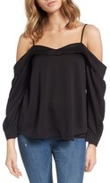 Leith Women's Satin Off The Shoulder Top