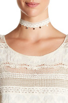 Stephan & Co Lace & Disc Choker
