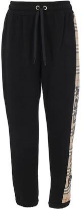 Burberry Check Side Stripe Track Pants