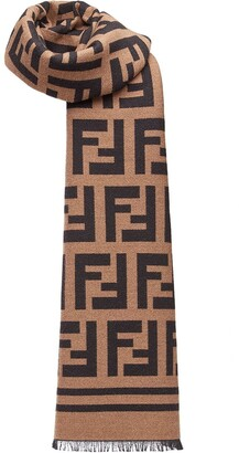 Fendi FF logo scarf