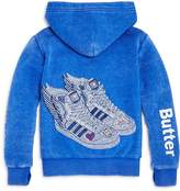Butter Shoes Girls' Fleece Superstar Sneakers Hoodie