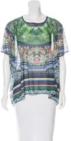 Clover Canyon Abstract Print Knit Top w/ Tags