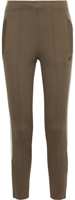 Twenty Montreal Zip Ankle Striped Cotton-blend Mesh Track Pants