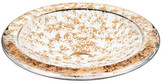 Orrefors Gold Glimmer Dish