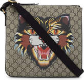 Gucci Bestiary Gg Supreme Canvas Messenger