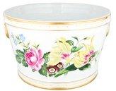 William Yeoward Porcelain Floral Cachepot