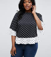 Asos Top In Mix And Match Mono Spot