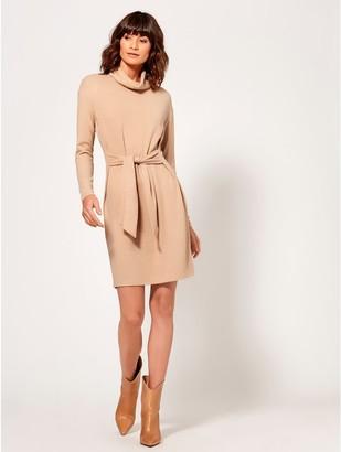 M&Co Tie front jumper dress
