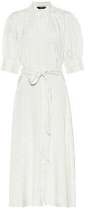 Polo Ralph Lauren Silk twill midi dress