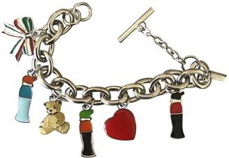 Moschino Silver Metal Bracelets