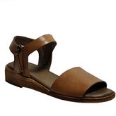 Gee WaWa Tan Patricia Leather Sandal