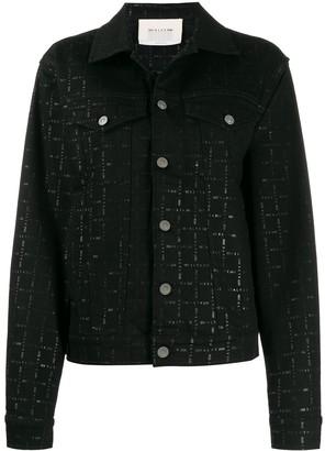 Alyx faded logo denim jacket