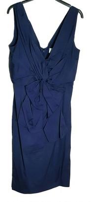 Valentino Blue Cotton Dresses