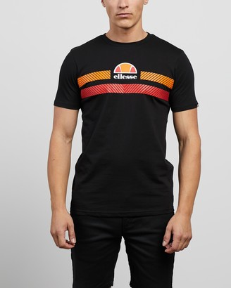 Ellesse Men's Black Printed T-Shirts - Glisenta T-Shirt - Size S at The Iconic