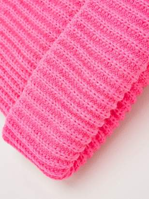 Very Neon Pink Knitted Beanie